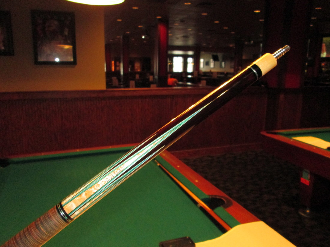 David Jacoby Cue With Custom Joint Protectors Amp Stacked