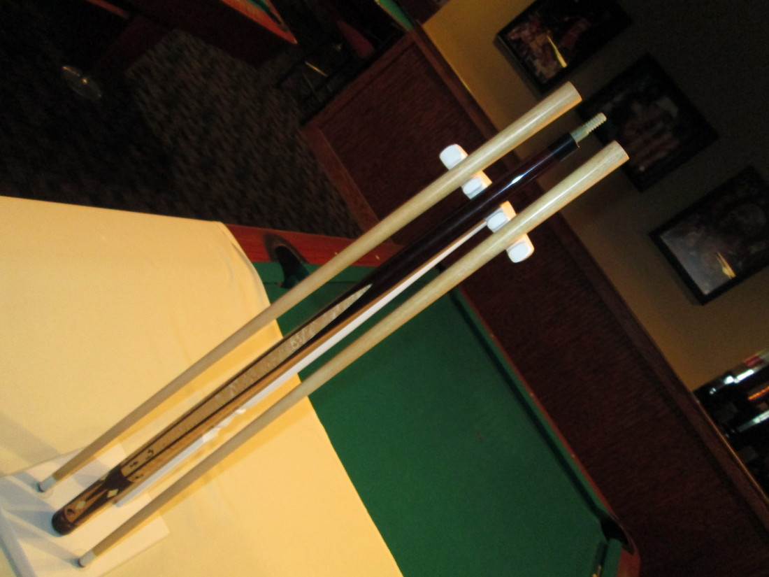 Dennis Dieckman pool cue stick for sale ACA Hall of Fame cuemaker