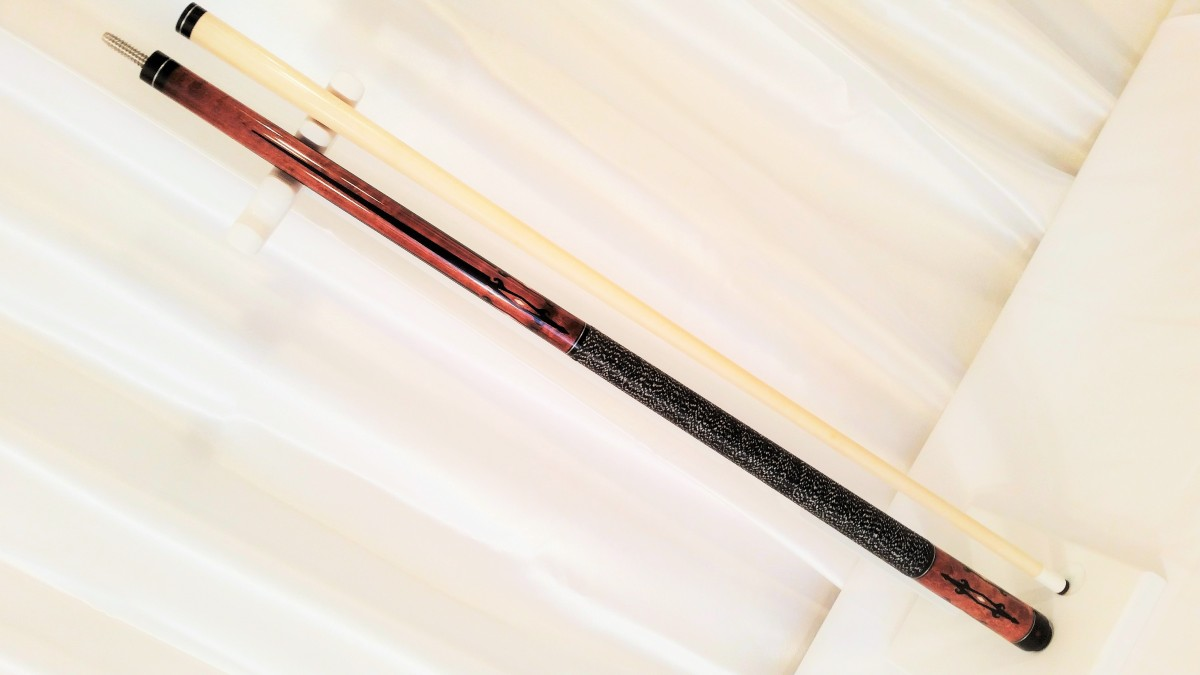 Leonard Bludworth Custom Pool Cue Stick For Sale