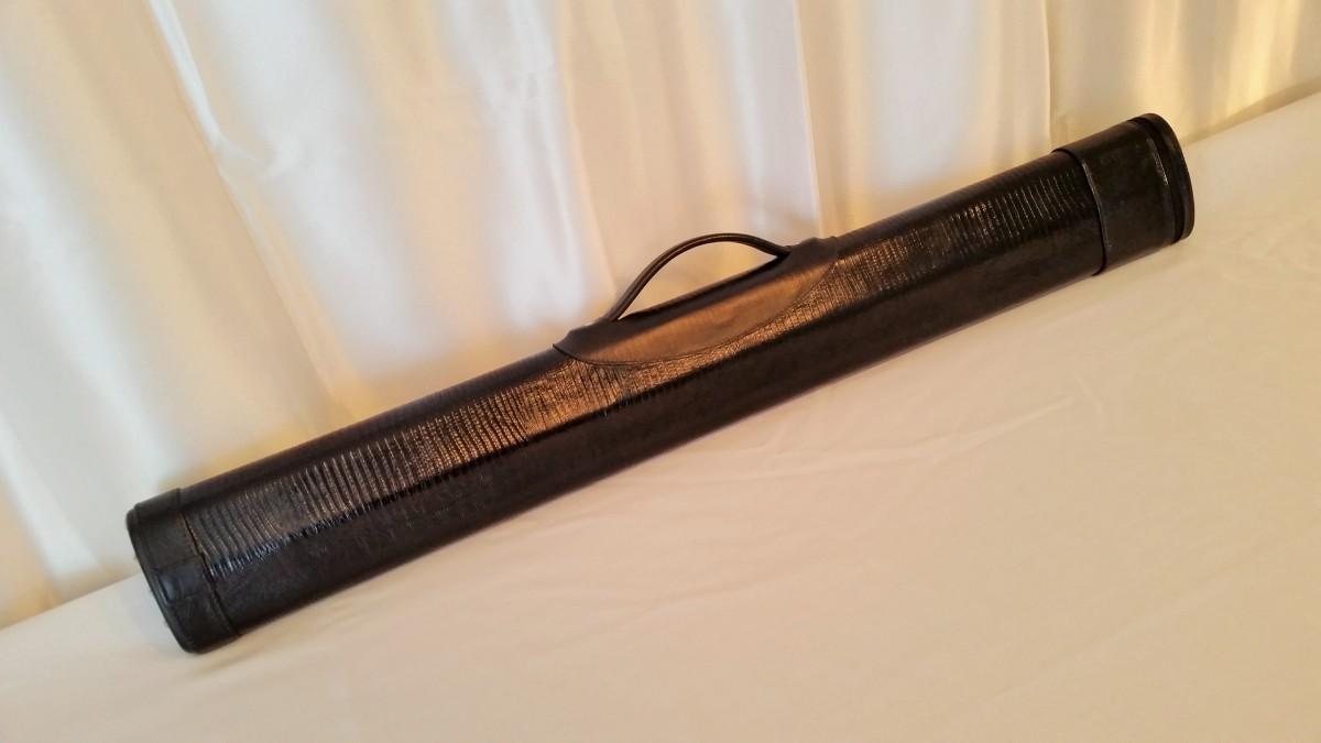 Dan Whitten 2 X 2 Custom Leather Pool Cue Case