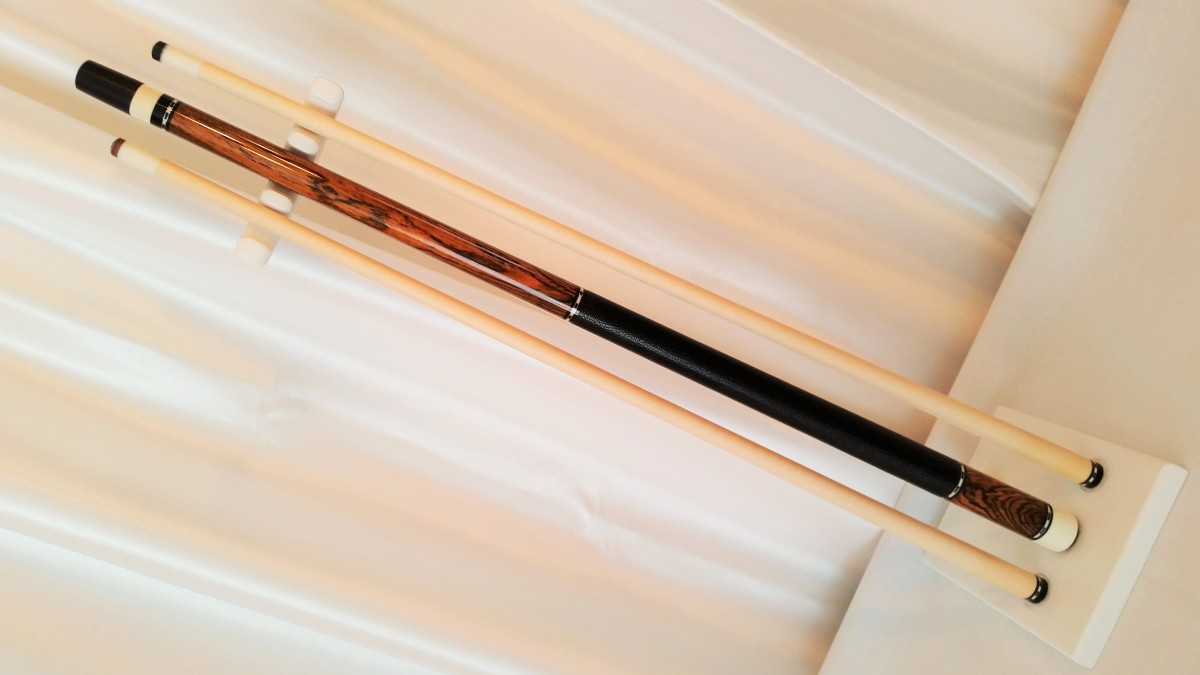 Andy Gilbert Bocote 2 Shaft Full Custom Pool Cue Stick For