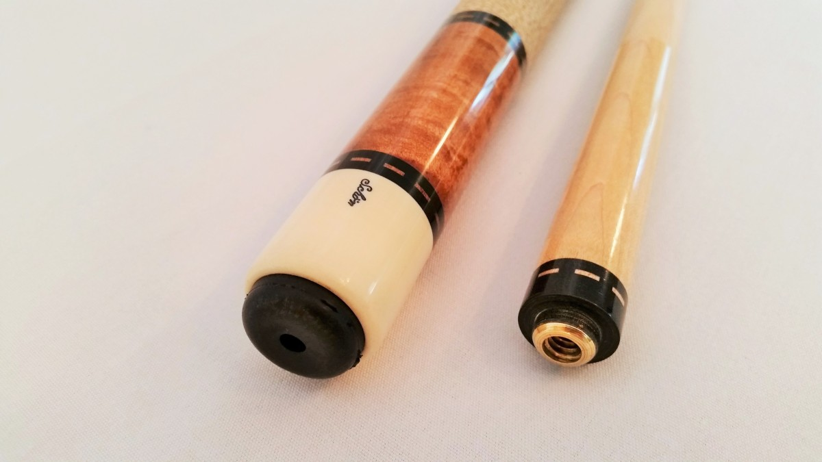 R1 Schon Pool Cue Stick For Sale Pre 1985 Runde Stitch