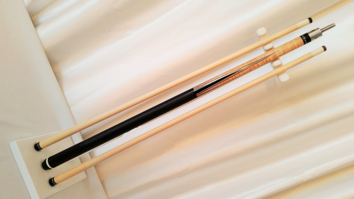 Ariel Carmelli Hoppe Style 2 Shaft Pool Cue Stick For Sale