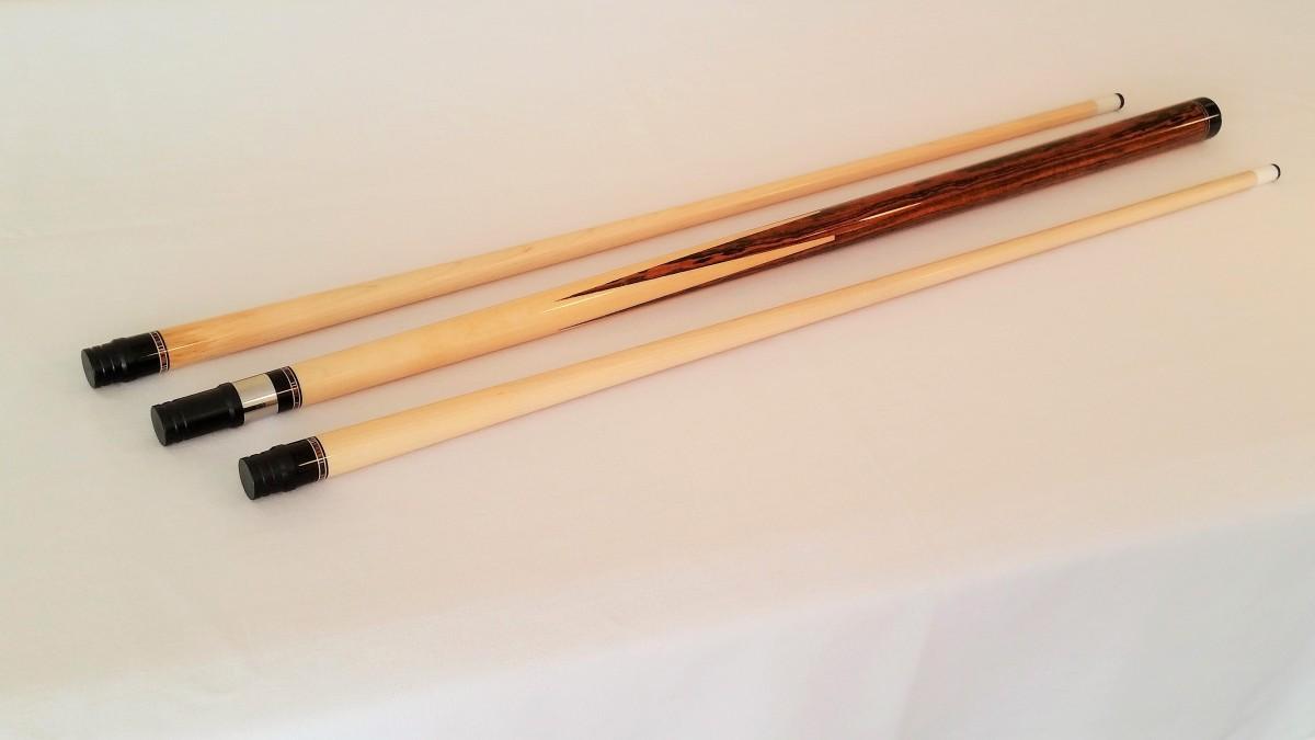 Rick Howard Custom Sneaky Pete Pool Cue Stick For Sale