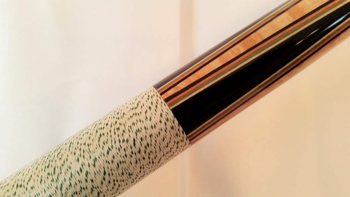 Joss West Vintage Collectible Pool Cue Stick For Sale