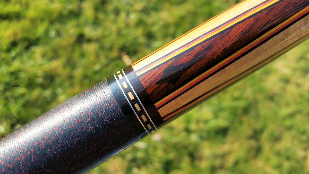 Tim Scruggs Vintage Custom Collectible Pool Cue Stick For Sale