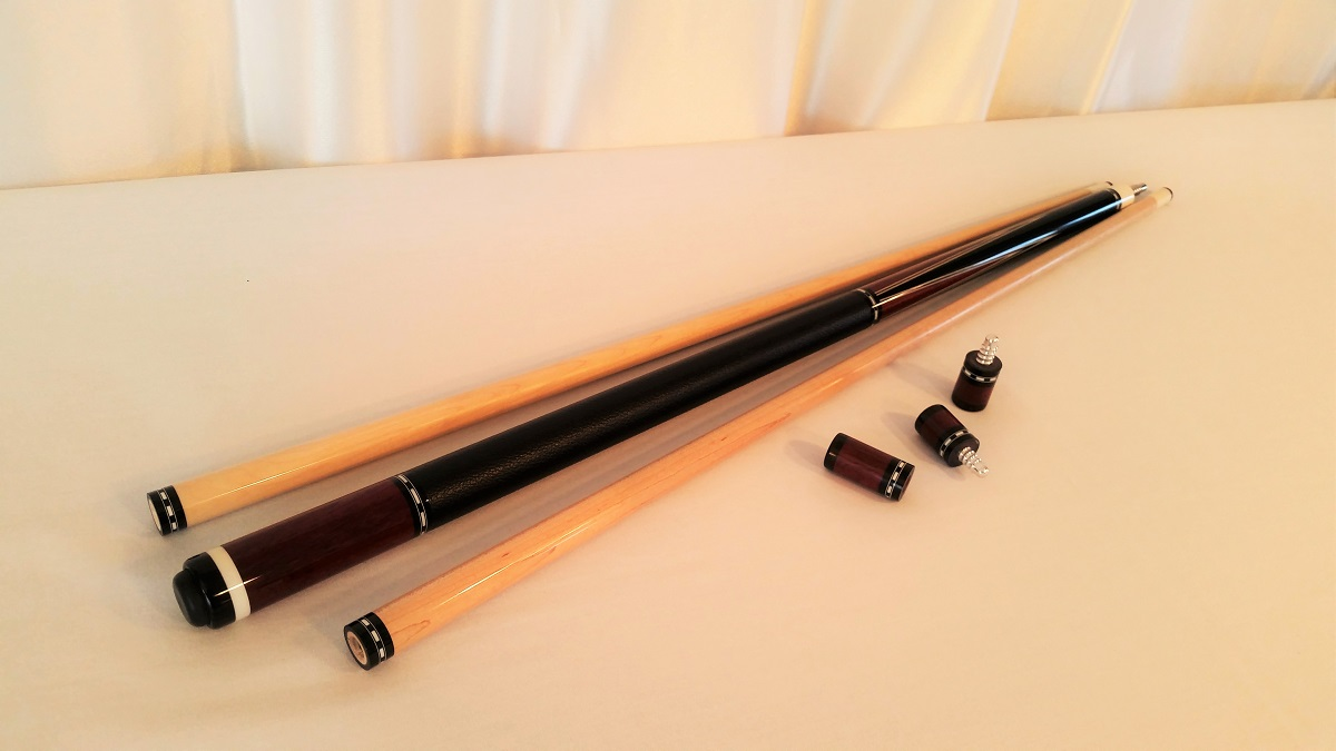 Chris Nitti Custom Pool Cue For Sale With 2 Shafts Amp Joint