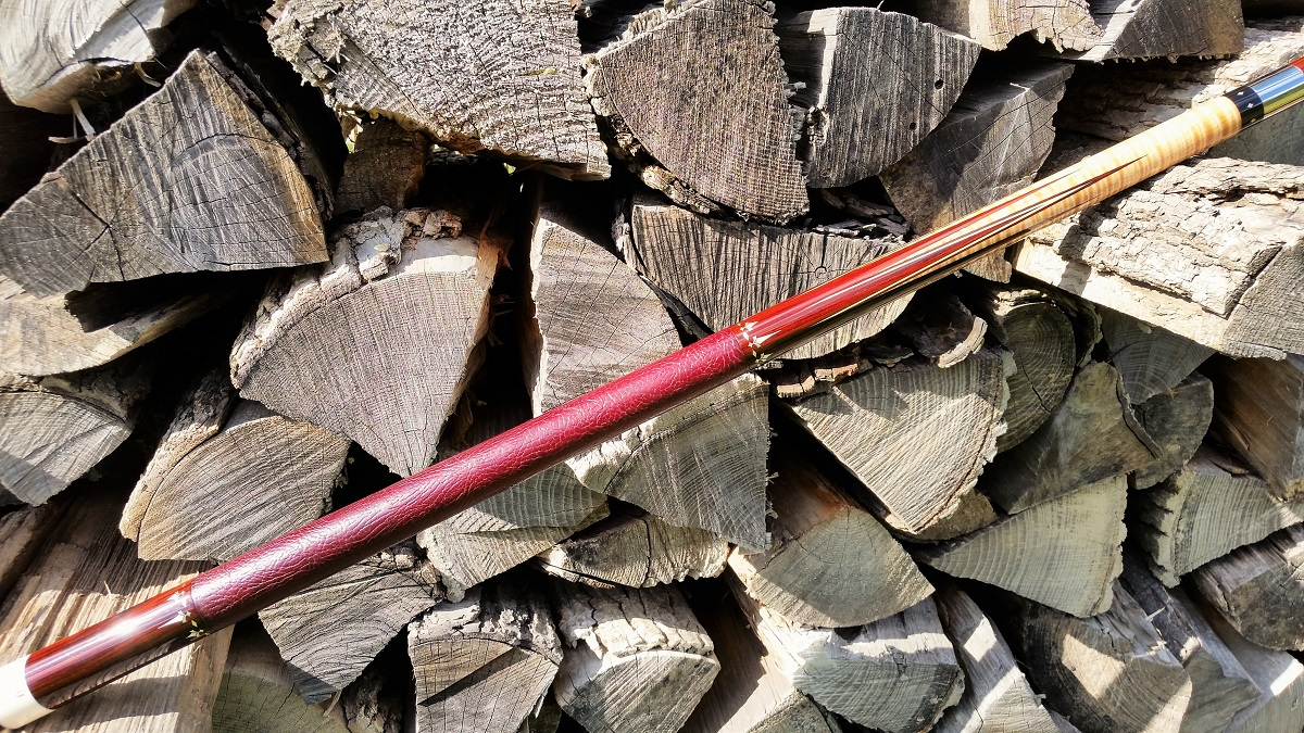 Michael Vollmer Custom Pool Cue For Sale W Quot Matching Joint