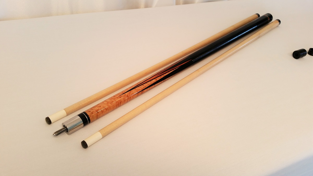 Black Boar 6 Point Pool Cue Stick For Sale