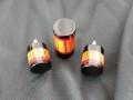 Cocobolo & Ebony Cue Caps For Sale (3)