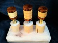 Curly Maple & Cocobolo Joint Protectors For Sale (1)