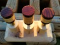 Curly Maple & Cocobolo Joint Protectors For Sale (6)