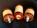 Curly Maple & Cocobolo Joint Protectors For Sale (8)
