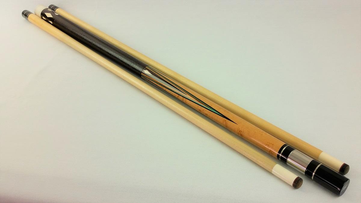 Pete Tascarella Pool Cue W Matching Custom Joint