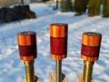Tulip Wood & Purple Heart Custom Joint Protectors (1)