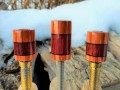 Tulip Wood & Purple Heart Custom Joint Protectors (3)
