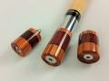 Tulip Wood & Purple Heart Custom Joint Protectors (5)