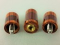 Tulip Wood & Purple Heart Custom Joint Protectors (8)