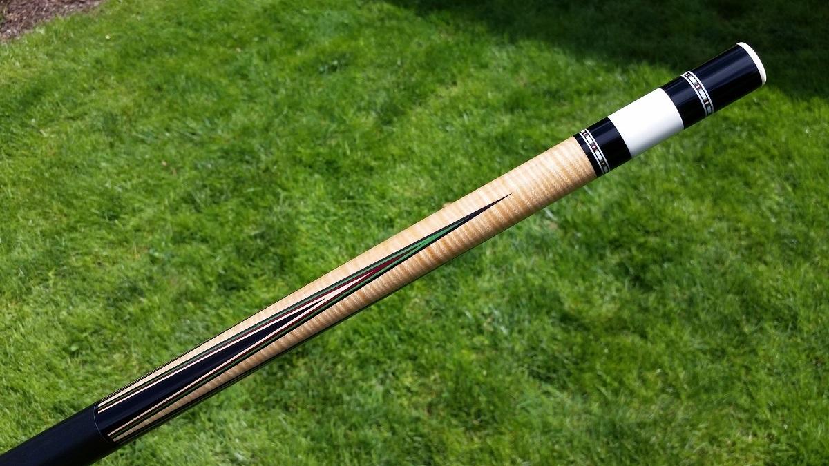 Eddie Cohen Custom Pool Cue Stick For Sale