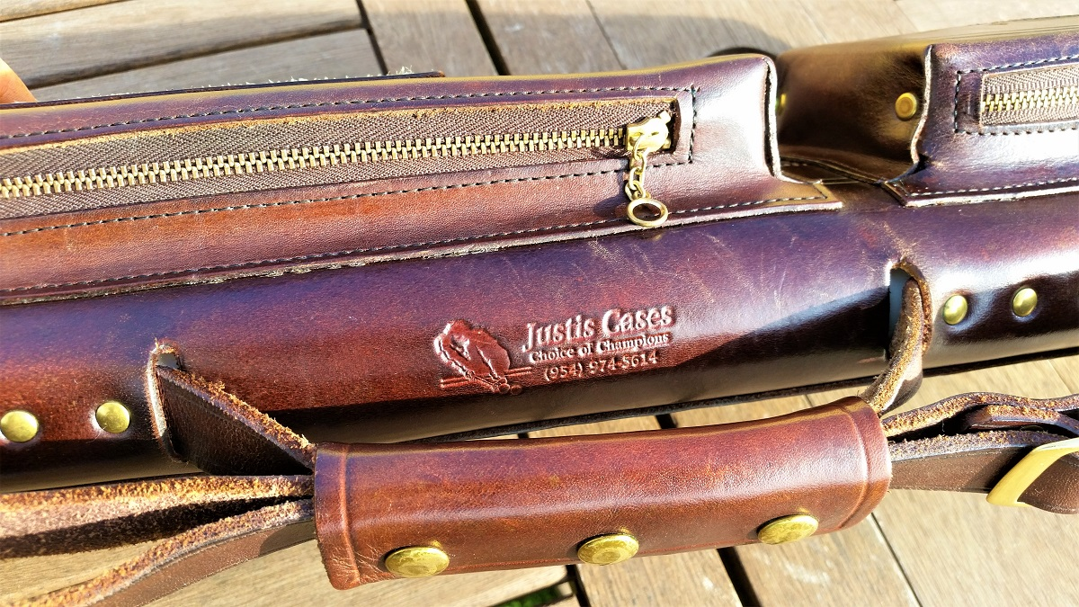 Jack Justis 2x4 Custom Pool Cue Case For Sale