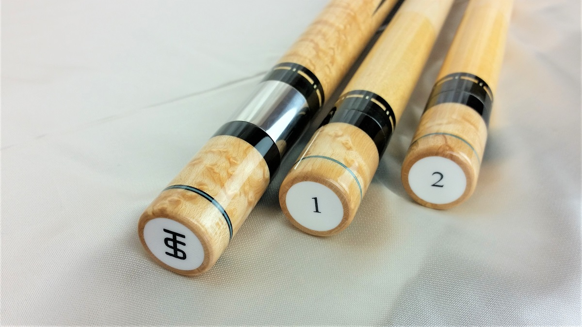 Tim Scruggs Pool Cue For Sale (2)