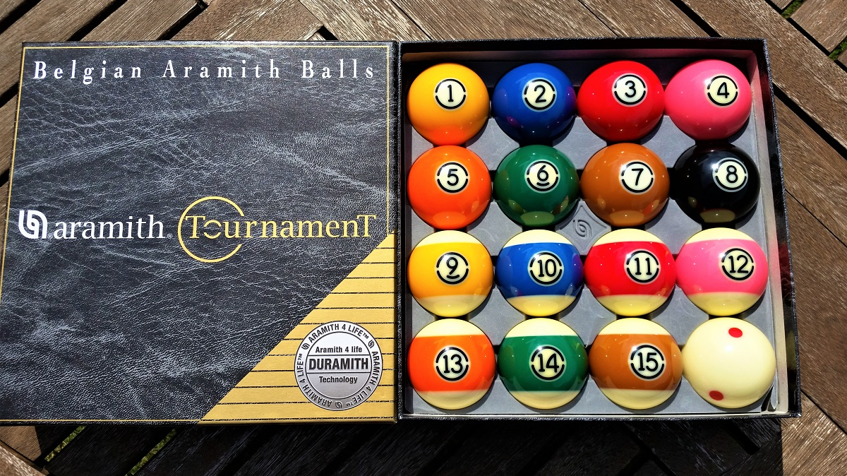 Aramith Tv Tournament Pool Balls For Sale