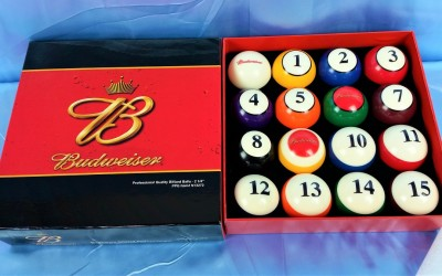 Budweiser Pool Balls (1)