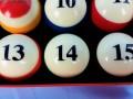 Budweiser Pool Balls (4)