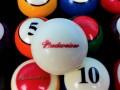 Budweiser Pool Balls (7)