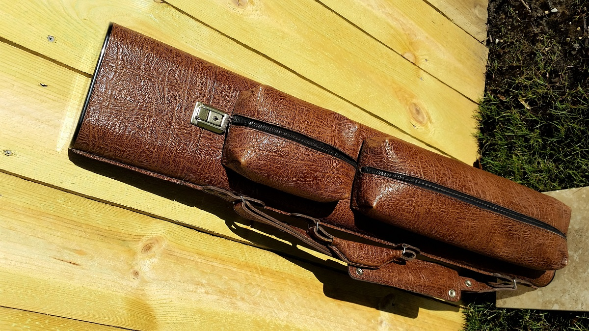 It S George 3x6 Custom Pool Cue Case For Sale