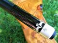 Black Boar Six Point Custom Pool Cue ALL ORIGINAL (2)